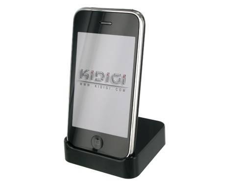 Apple iPhone 3G Crystal Cradle ( Black )