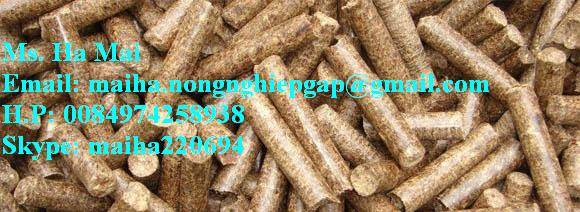 Natural Energy Friendly Environment Wood Pellets Vietnam 6mm Cheap Price For Biomass System Heating