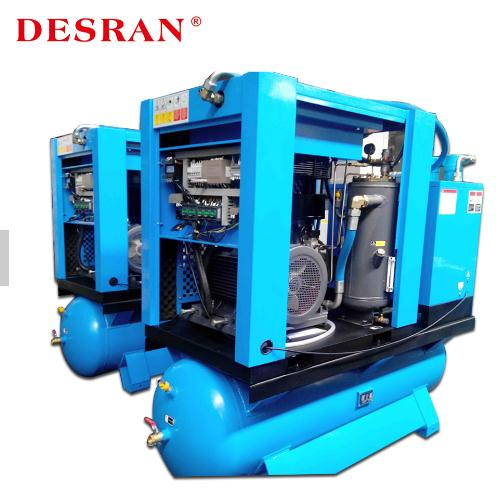 General Industrial Equipment Tank Mounted Compressor With Air Dryer