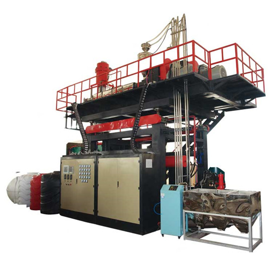 2000Lwater tank blow molding machine