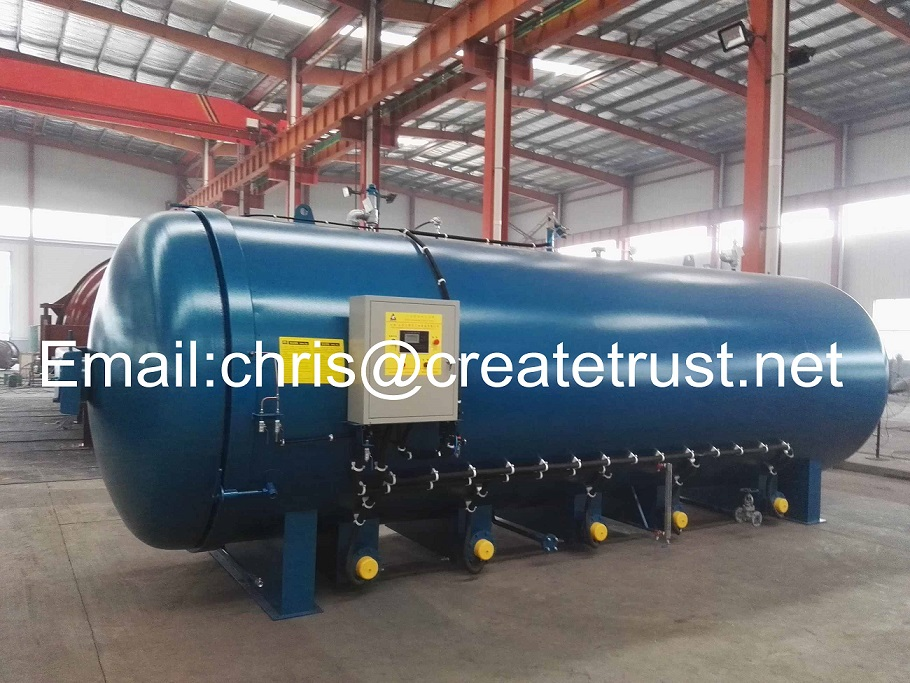 rubber vulcanizing tank/autoclave machine for tyre/pressure vessel