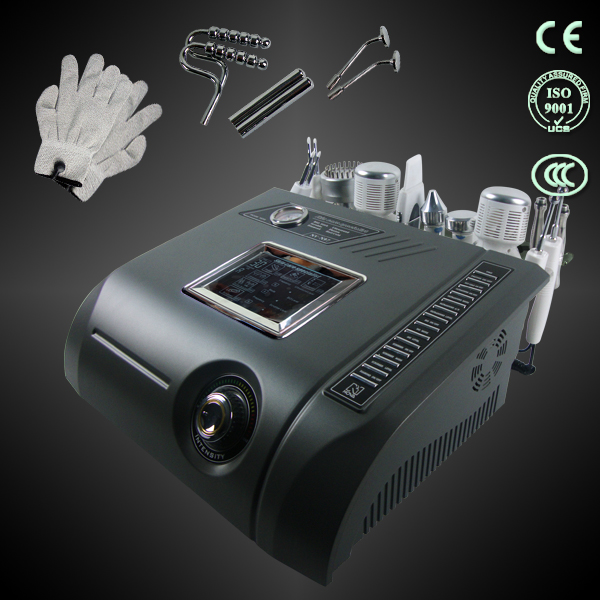 diamond dermabrasion No-needle Mesotherapy skin scrubber lift bio photon beauty machine