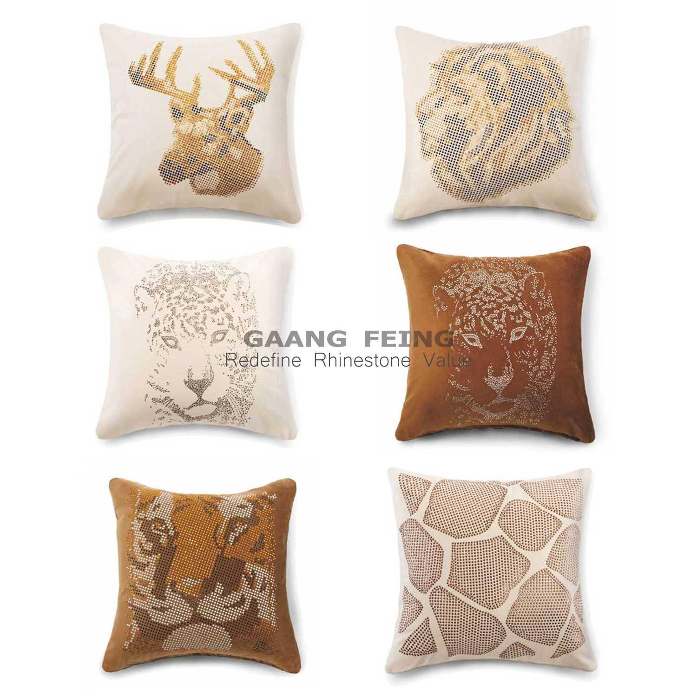 Rhinestone Cushion