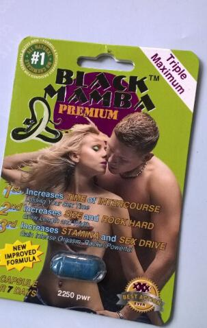 Black Mamba 1s*24pcs Sex Pills Sex Products Male Enhancement Herbal Male Drugs