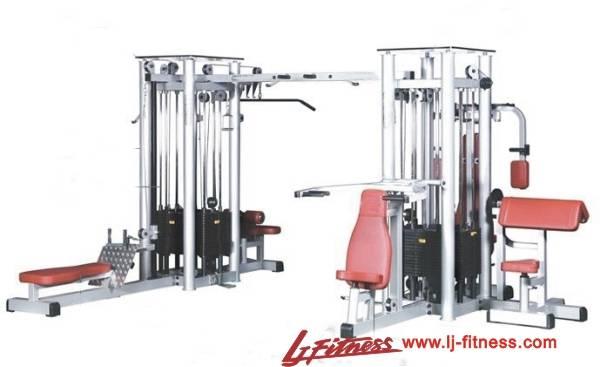 Deluxe 8-Station Multi Gym Equipment (LJ-5906)