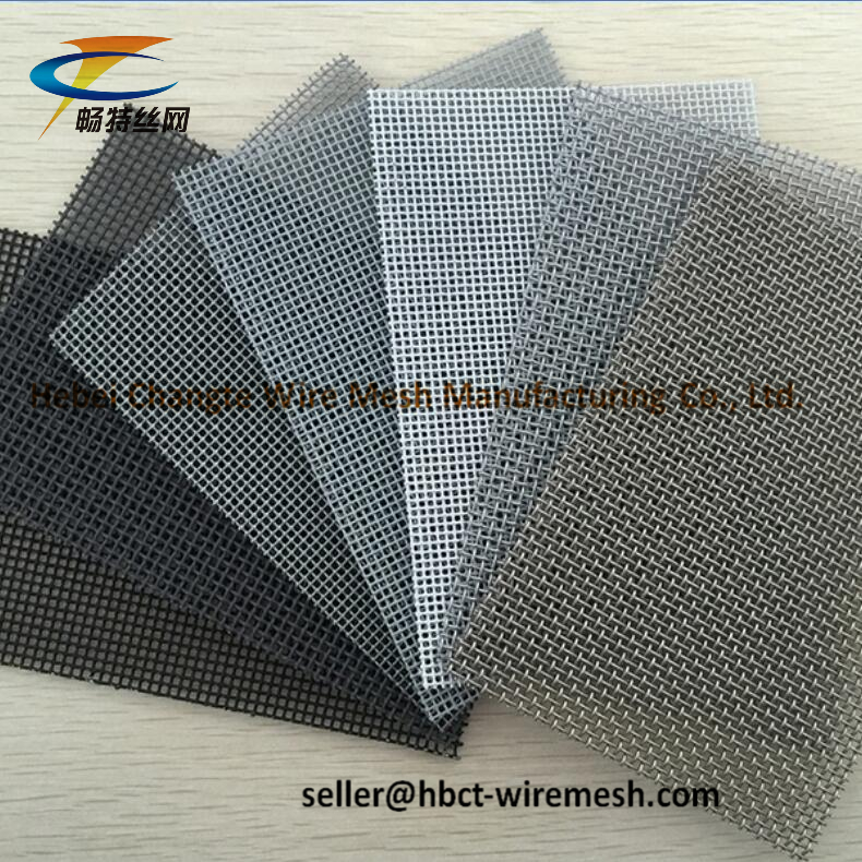 Air Vents Stainless Steel Woven Wire Mesh 12X12 Mesh 1.3 - 1.8 mm