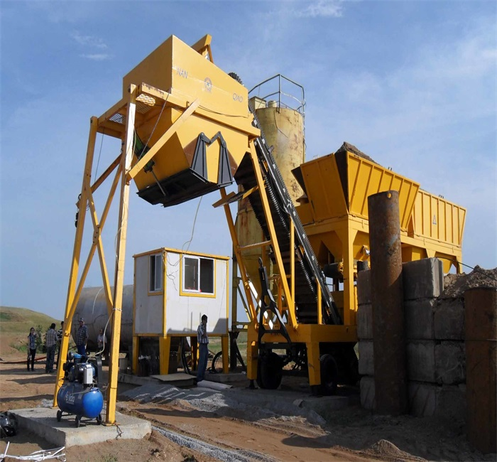 Stabilized Soil Mixing Plant China Supplier