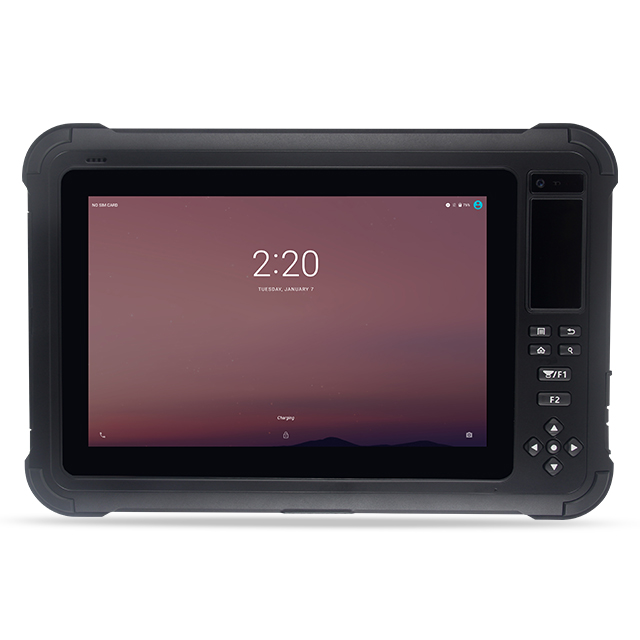 S101 biometric FHD 10 inch Rugged Android tablet PC IP65 NFC GPS 4G LTE