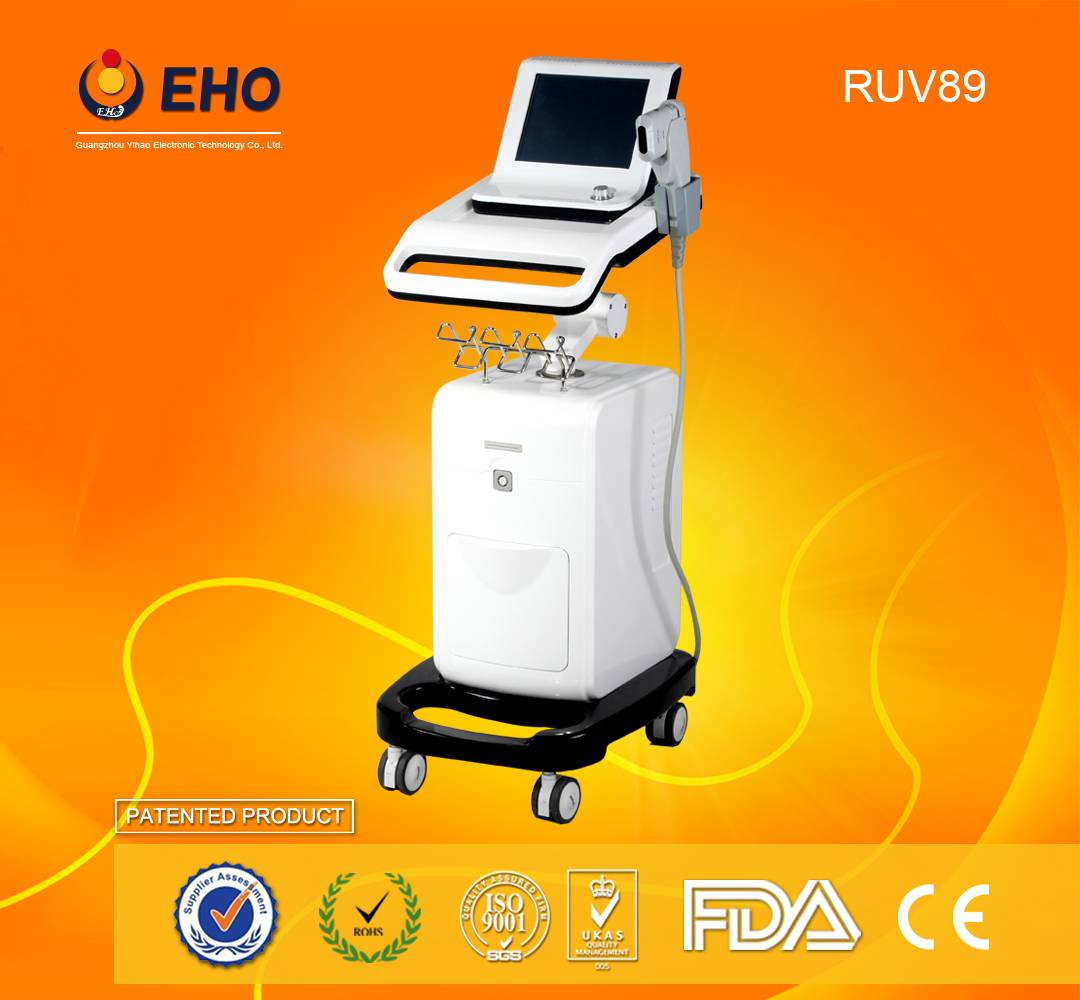 2016 RUV89 for body and face hifu slimming machine