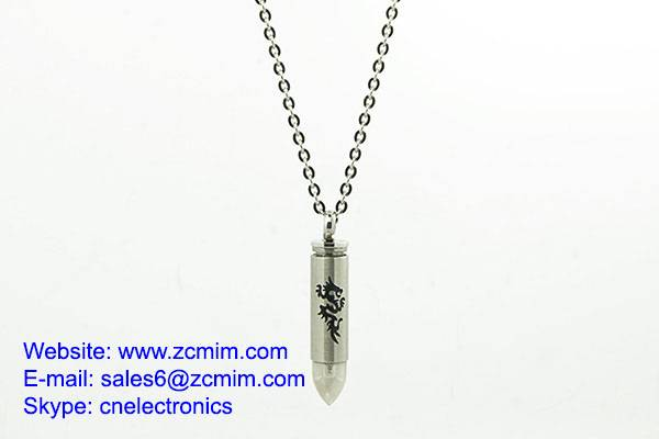 Perfect Powder Metal Sintered Parts For Metal Bullet Pendant