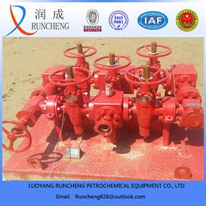 API standard well control system wellhead Manifold for oil or gas field use