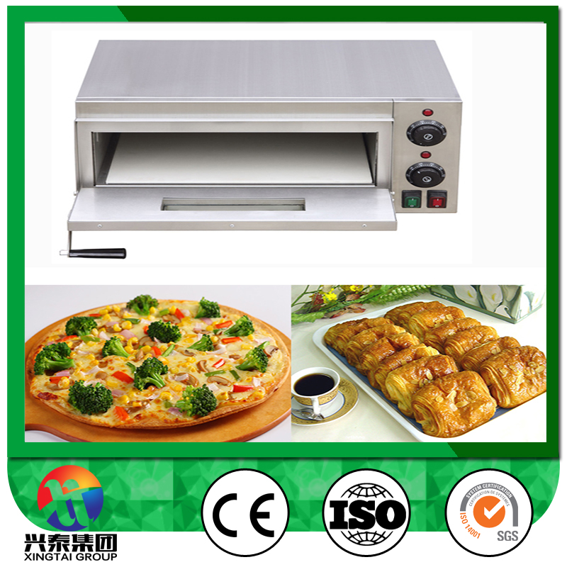 outdoor electrical mini pizza oven/single deck oven