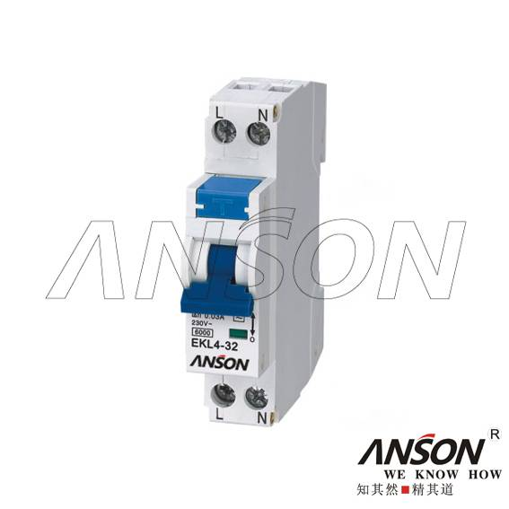 EKL2-40 RCBO (Electronic Combined RCCB & MCB Device)