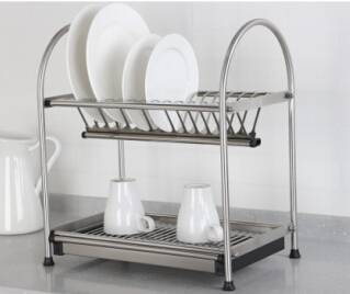 desktop dishes rack