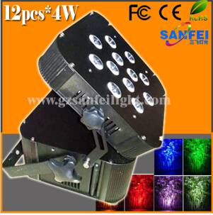 Wireless Battery Powered 18X10W RGBW Stage LED PAR Light