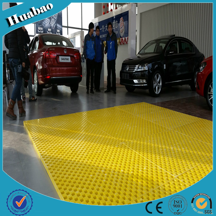 FRP Chemical Resistance Light Weight Corrosion Resistant FRP Fiberglass Reinforced Plastic Flooring