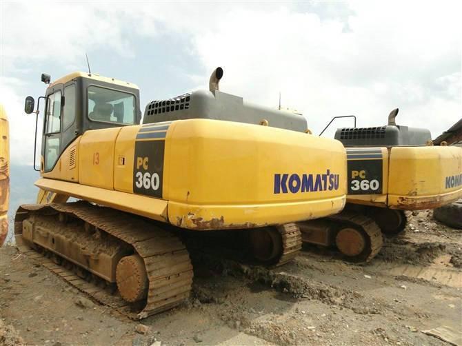 Shanghai supply used komatsu PC360 excavator /komatsu PC360 digger
