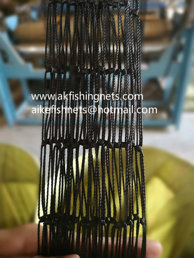 multifilament fishing nets 210D/36ply,double fix knot,high quality,hot sale in market