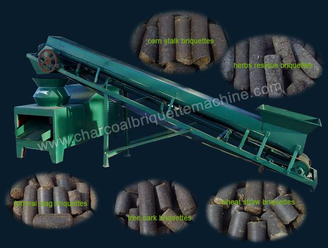 Flat Die Biomass Briquette Press