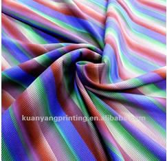 Bh030 Waterproof Plain beach shorts Poly Spandex material printed woven Fabric
