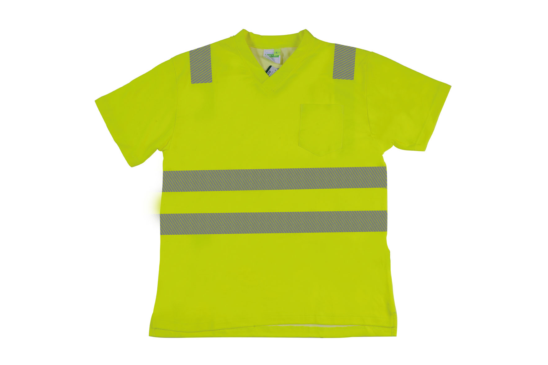 HIVIS V-NECK T-SHIRT RXT03