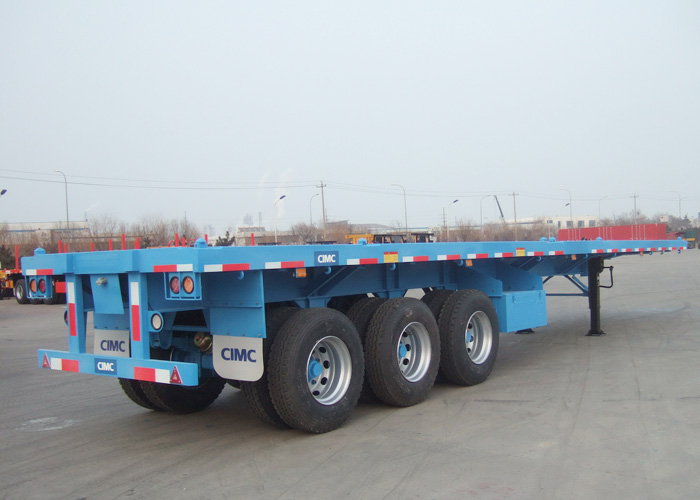 40 ft flatbed cotainer transport trailer | CIMC VEHICLES