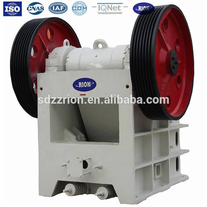 ISO quality stone jaw crusher from china for sale