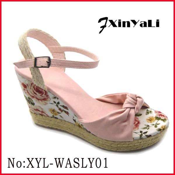 2015 women sandal hot selling footwear new arrvial shoes