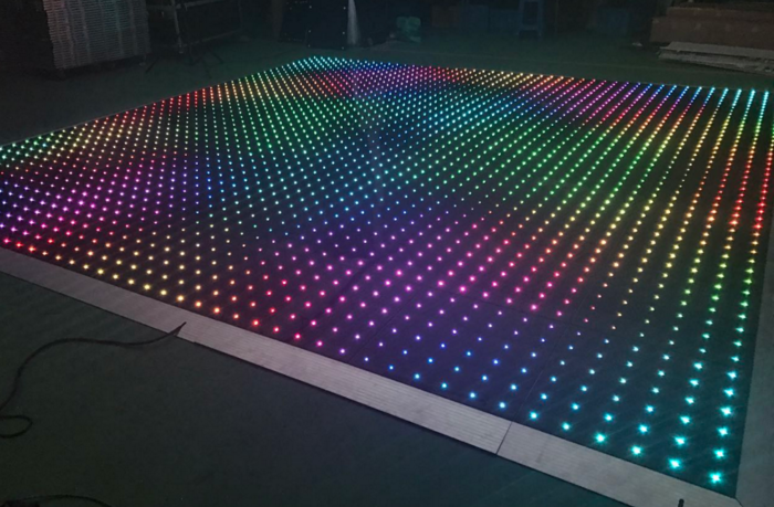 6m x6m whole set starlit effect acrylic video dance floor