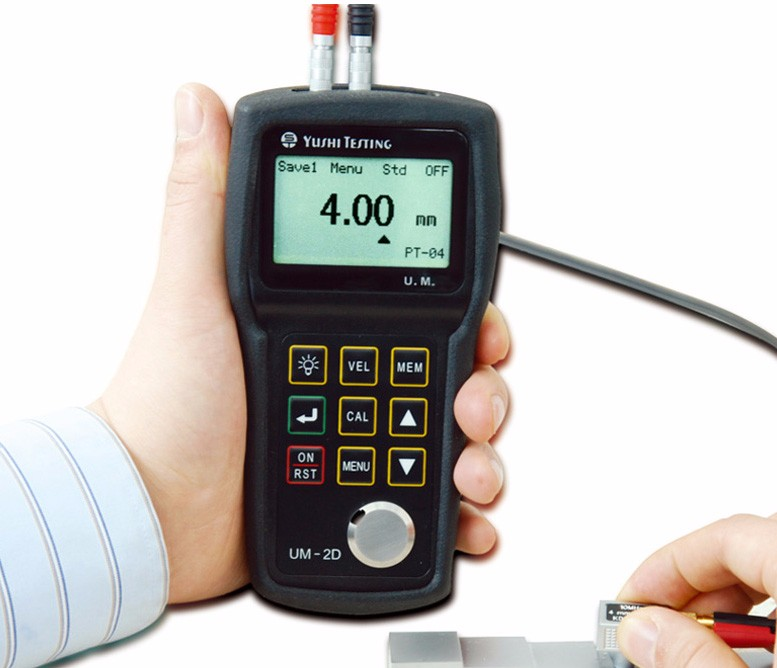 plastic thickness gauge and metal thickness gauge for ultrasonic thickness test digital