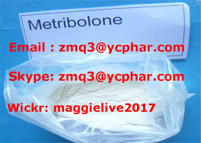 Steroid Powder Metribolone Acetate Methyltrienolone for Muscle Grow