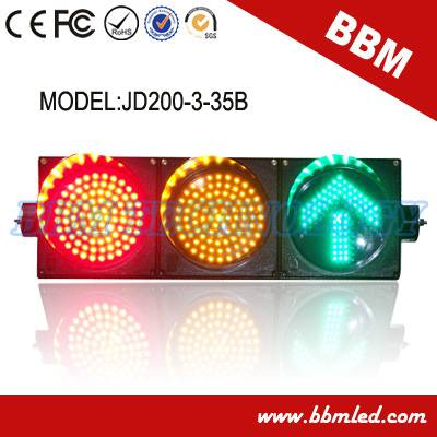 200mm ball and arrow road traffic signal light