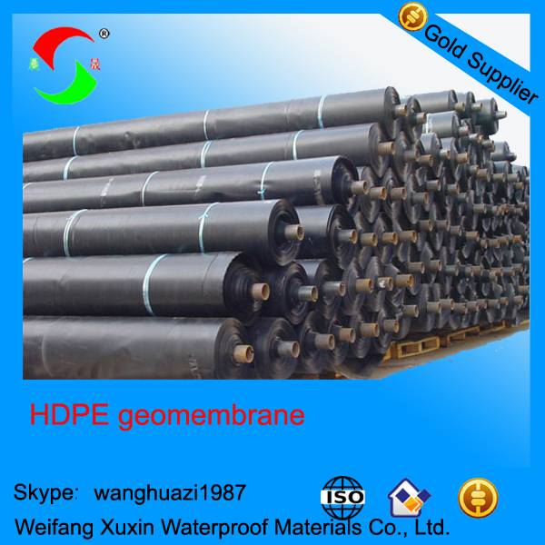 1mm HDPE geomembrane price for landfills