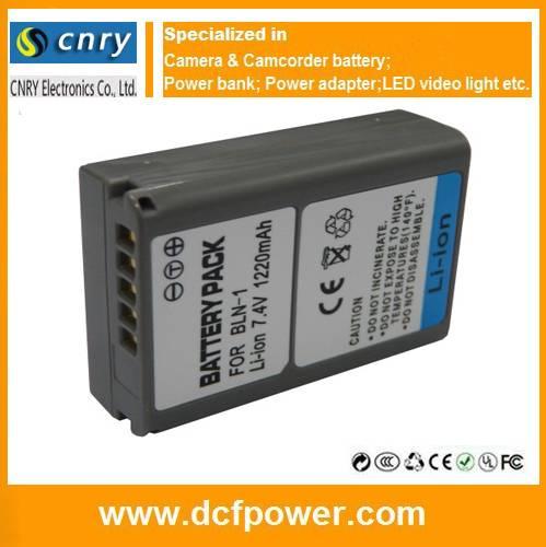 BLN-1 Replace Battery Pack For Olympus OMD EM5 BLN1 Camera D-Li90 D-Li109 NP-FV70 for Sony, EN-EL14a