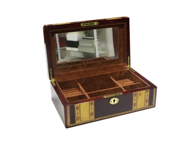 Burlwood Jewelry Box for Men