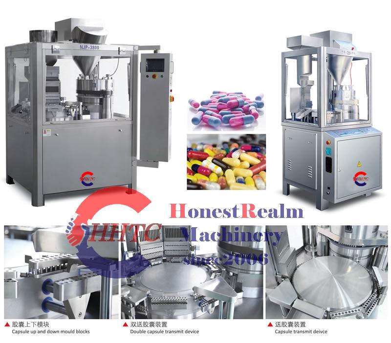NJP Series Fully Automatic Capsule Filling Machine