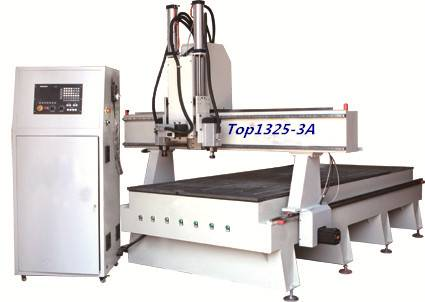 woodworking cnc router machine with rotable spindle
