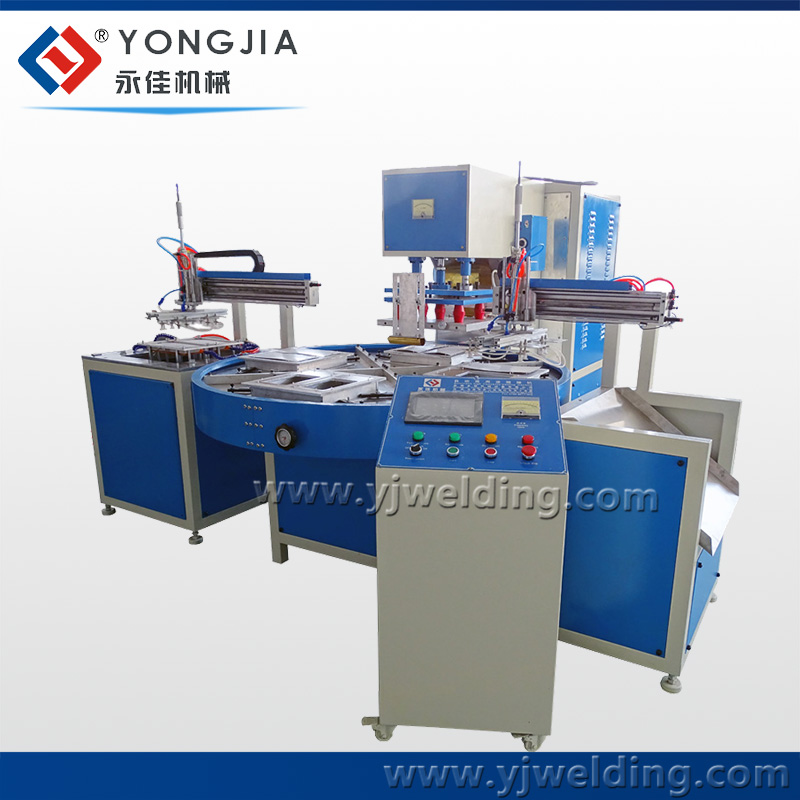 PVC/PET/PP/PS clamshell/blister packing machine