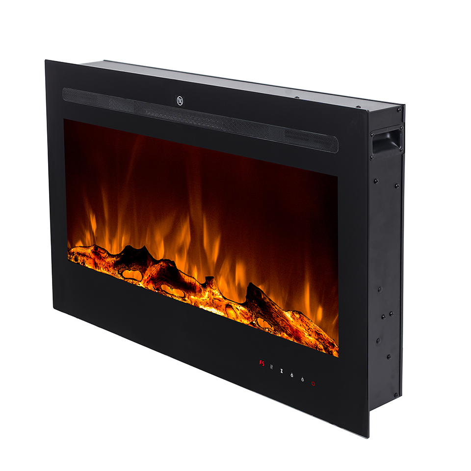 New small wall mounted 36' electric fireplace heater