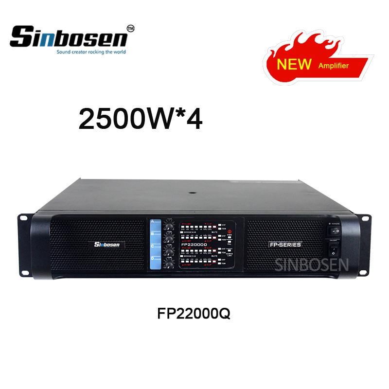 2018 Newest Lline array Fp22000Q High Quality subwoofer Power Amplifier 4650W4 Channels at 4 ohms