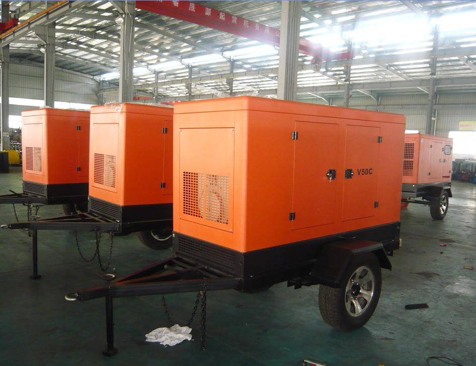 Weifang Tianhe Diesel Power Generator Set (25KW-180KW) with CE/Soncap/Ciq Certifications