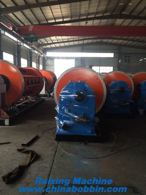 630/12+18+24 Frame Stranding machine for stranding sector conductor, round conductor