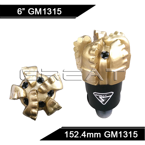 GREAT GM1315FZ Matrix Body PDC Drill Bit
