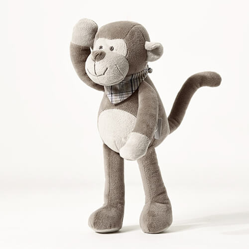 China custom plush monkey toys supplier