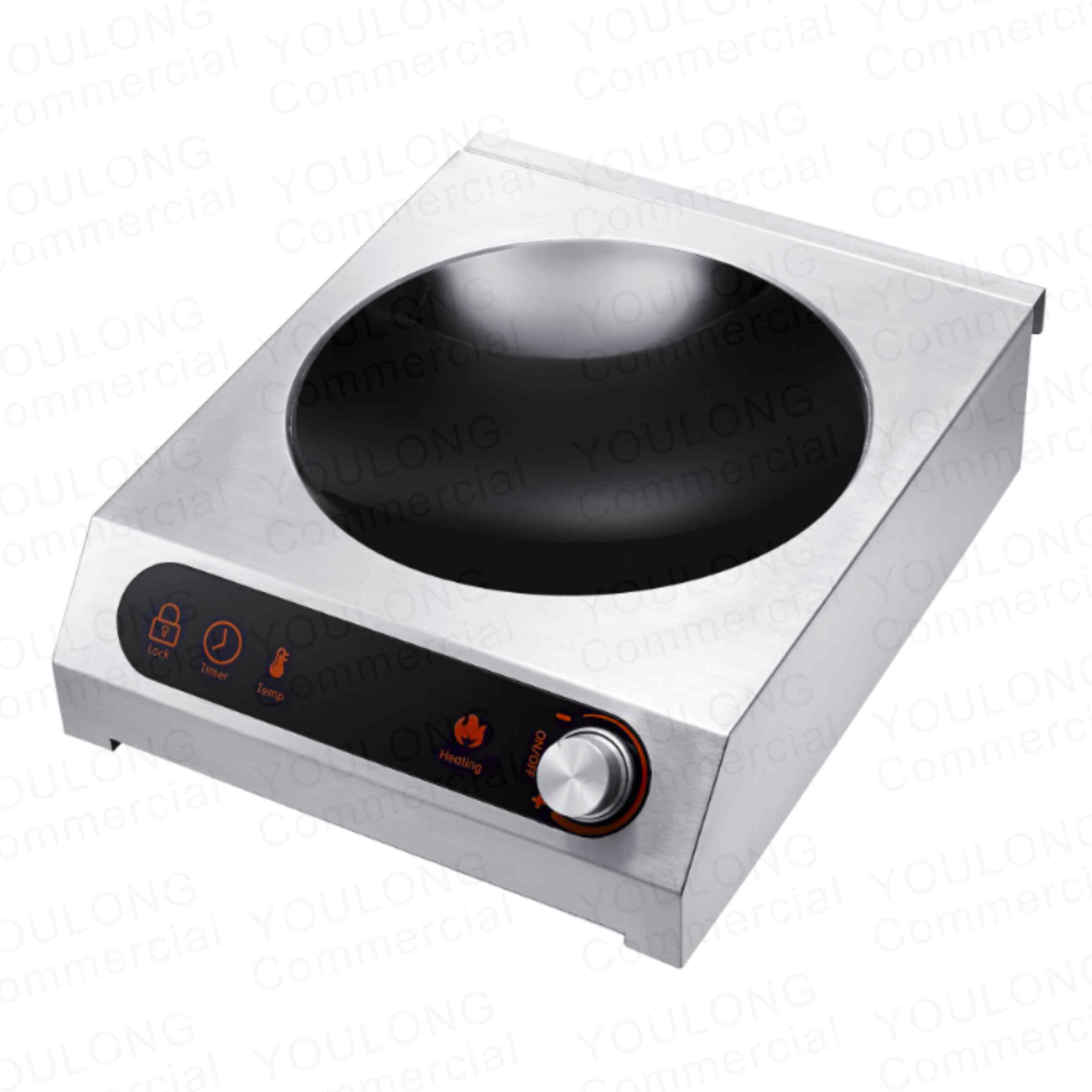 induction cooker C3501-SKW Touch and Knob Control