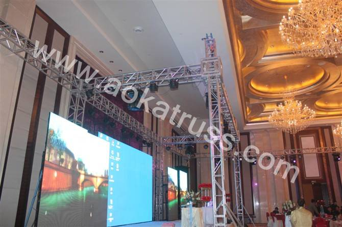 Sell LED display screen support truss systen