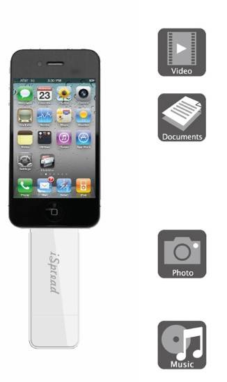 NOOSY iSpread flash drive for APPLE iDevice