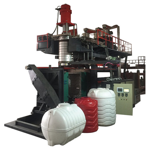 3layers water tank blow molding machine