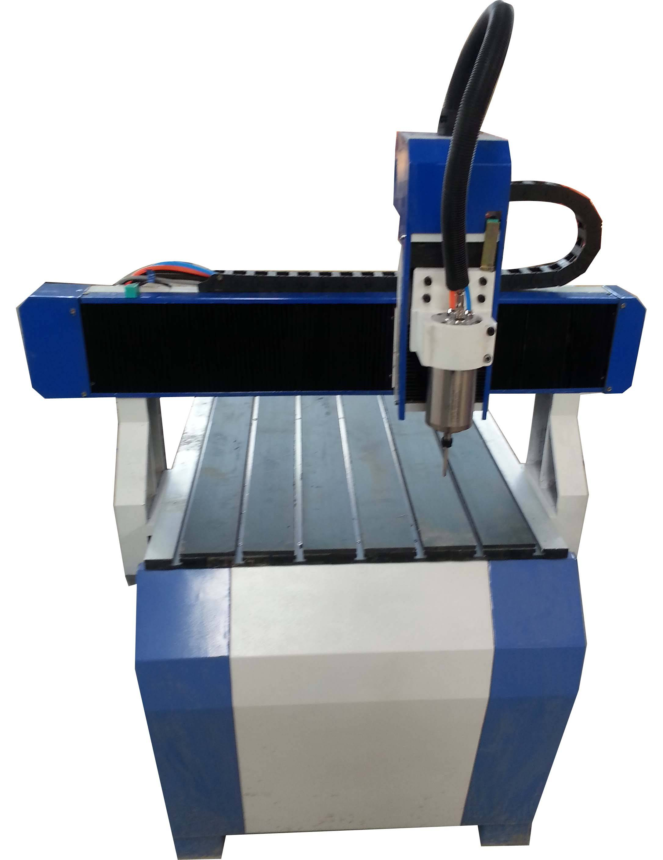 Best high speed 4 axis 6090 CNC router 3D cutting milling machine for wooden stone metal with limit
