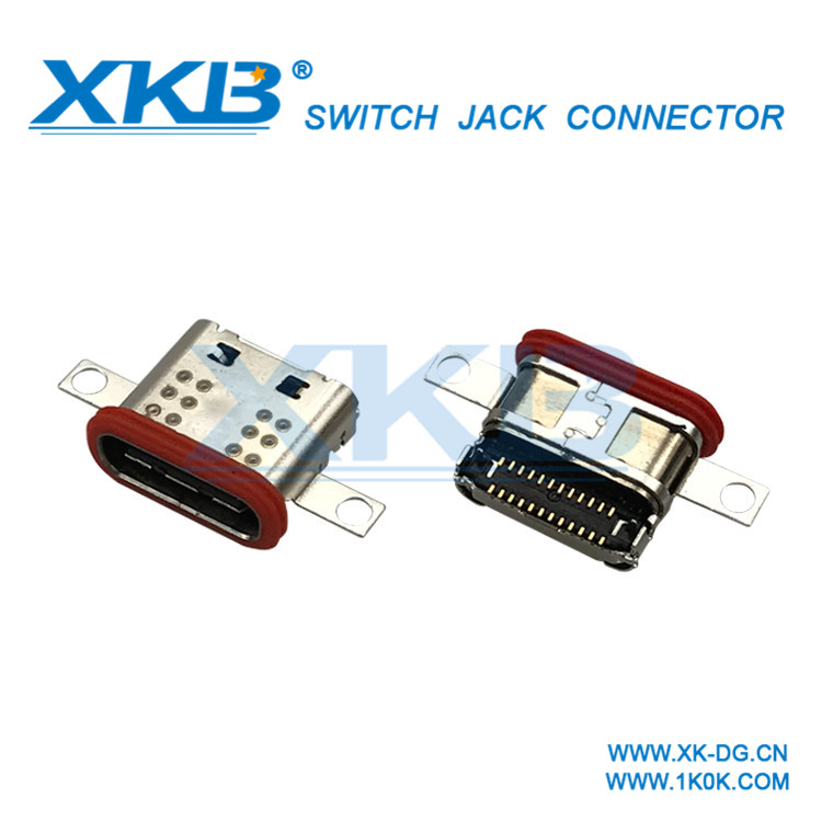 Waterproof USB3.1 connector Type-C connector